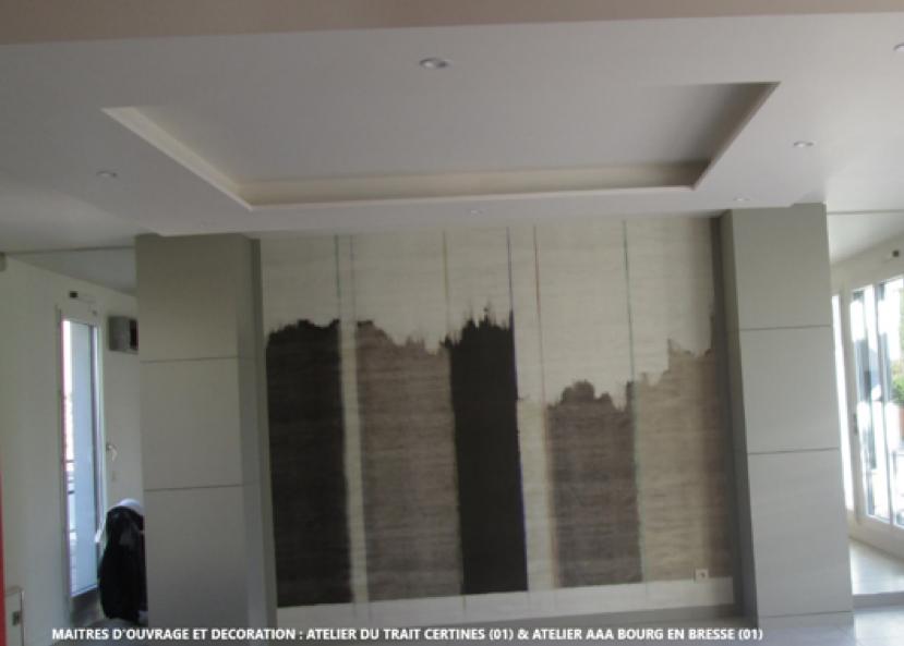 Plâtrerie et panoramique décoratif